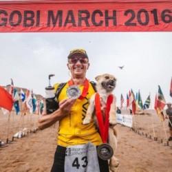 Meet The Marathon Dog, Gobi!